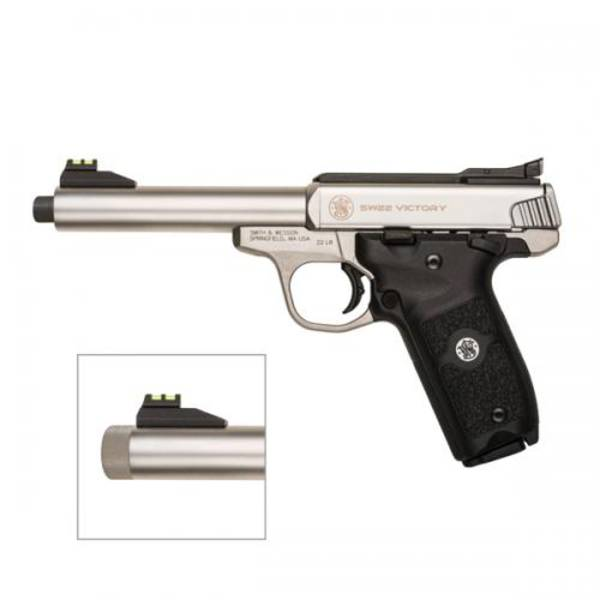 "Smith & Wesson Victory 22LR 5.5"" Threaded"