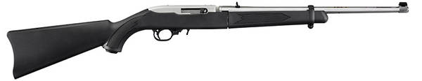Ruger 10/22 Takedown Semi Auto 22LR Stainless Steel and threaded