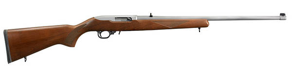 Ruger 10/22 Wood Sporter Stainless 22lr