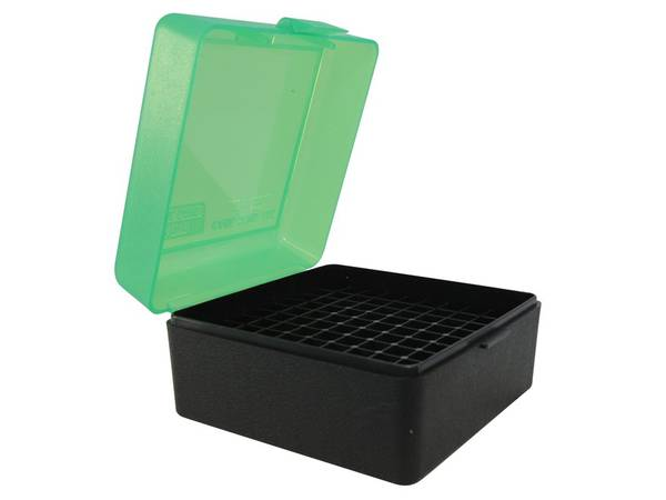 [1253] MTM Ammo Box RS-100-16T Green