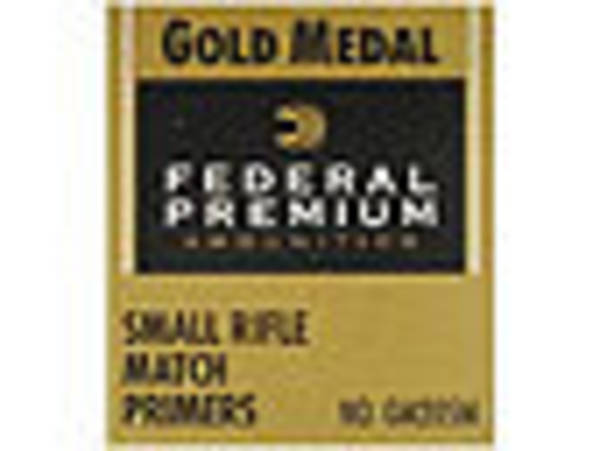Federal Small Rifle Match Primers No GM205M x100