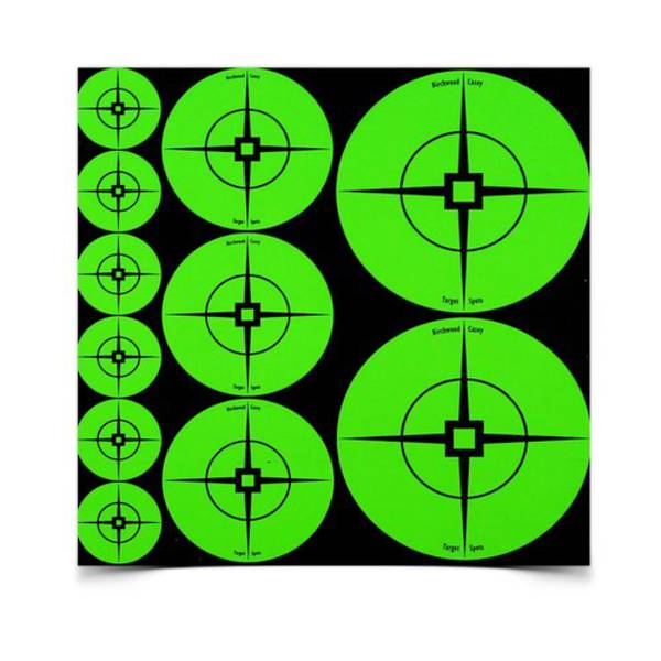 Birchwood Casey Target Spots Assortment Green