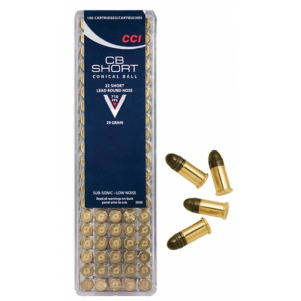 CCI CB Short 22 500 Rounds