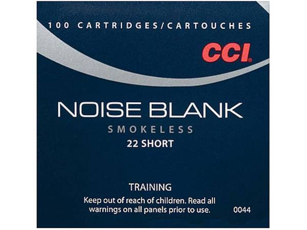 CCI Noise Blank 22 Short Box of 100