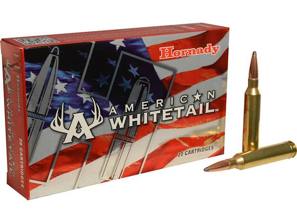 Hornady American Whitetail Ammo 7mm Rem Mag 154gr #80590
