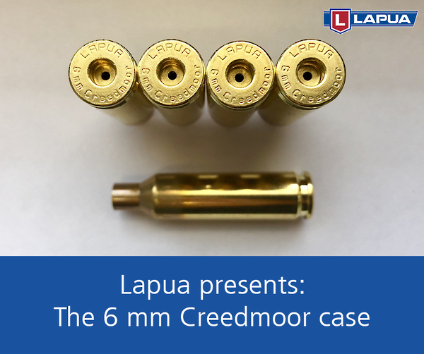 Lapua Brass 6mm Creedmoor Small Rifle Primer x100 #4H5022
