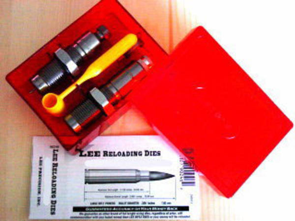 Lee Limited Production 2 Die Set 223 WSSM 90446