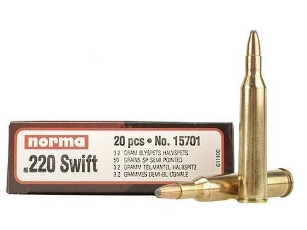 Norma 220 Swift 50gr SP 20's