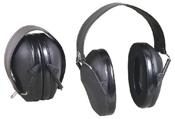 Allen Ear Muffs Collapsible Low Profile