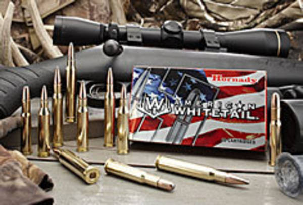 Hornady American Whitetail Ammo 243 100gr