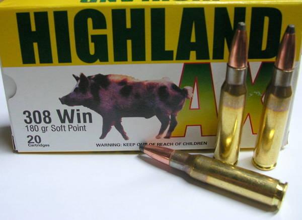Highland AX 6.5x55 139gr SP