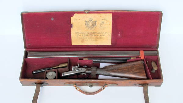 Holland & Holland Cased 12 Gauge SBS