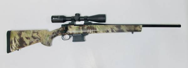 "Howa Mini Action 223Rem Light Weight 20"" Blued Kryptec 3-9x40 Package"