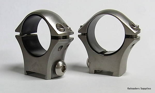 Tikka Optilock Ring Mounts 1 Low Stainless Steel