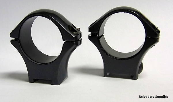Tikka Optilock Ring Mounts 30mm Low Blue