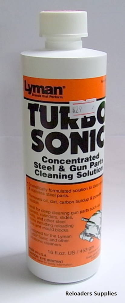 Lyman Turbo Sonic Concentrated Cartridge Case Cleaning Solution
