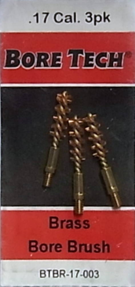 Bore Tech 17 Cal Bronze Brushes