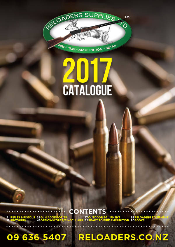 Reloaders Product Catalogue 2017
