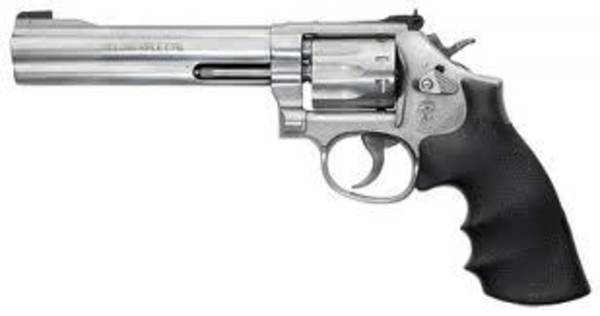 Smith & Wesson 617 22LR Stainless Steel 6 Inch Pistol #160578 (As New)