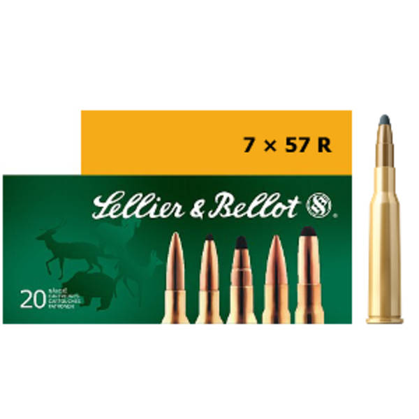 Sellier & Bellot 7x57R 140gr SP x20