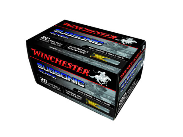 Winchester Subsonic 42 MaxSubsonic 500 Rounds