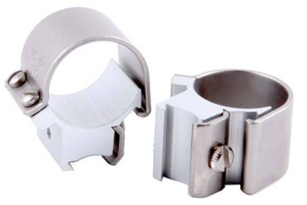"Weaver Tip Off Dovetail Rings 1"" Silver 49039"