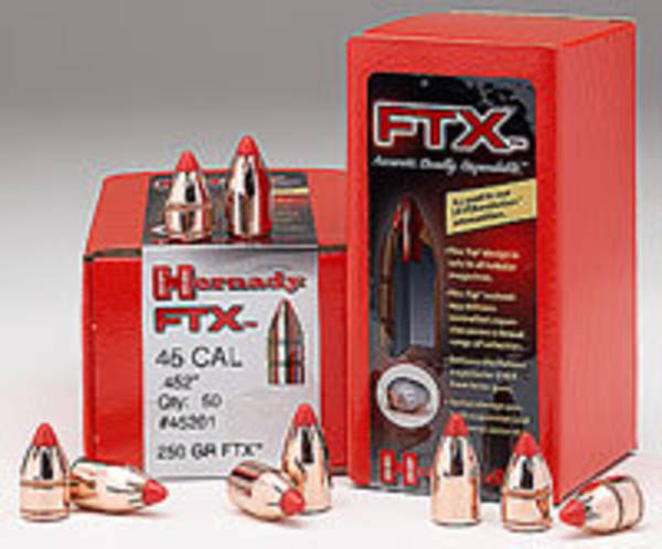 Hornady 44 Cal .430 225 gr FTX® 44105 Box of 100