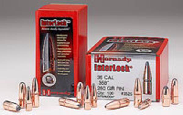 Hornady 30 Cal .308 180 gr InterLock® RN 3075 Box of 100