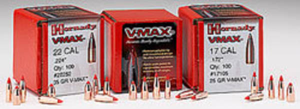 Hornady VMax Varmint 6mm 87gr 22440 Box of 100