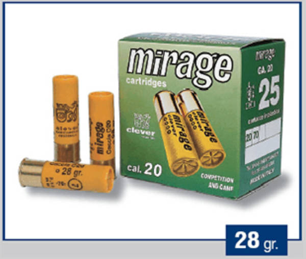 20ga Clever Mirage Cal 20 T3 Trap-Skeet 24g T3 #9