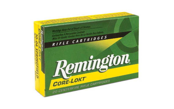 Remington Core Lokt 222 Remington  50gr PSP 20 Rounds