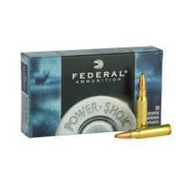 Federal Power Shok 6.5x55 140gr SP x20