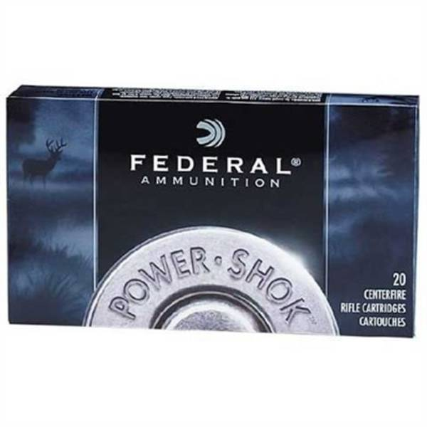 Federal Power Shok 300 Win Mag  150gr Soft Point 20 Rounds
