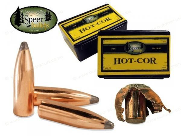 Speer 8mm 150gr Hot-Cor Spitzer SP (100 box) #2277
