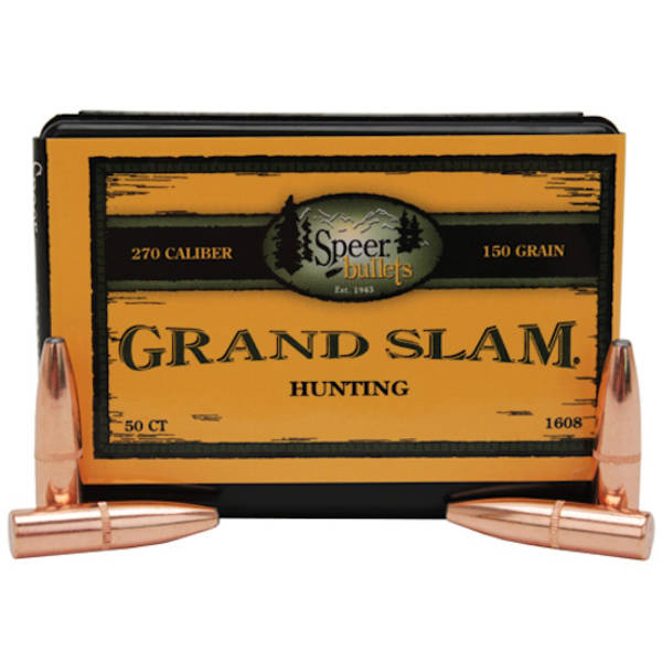 Speer Grand Slam  30cal 165grain 2038