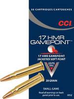 CCI Gamepoint 17HMR 20gr JSP x50