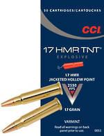 CCI TNT 17HMR 17gr HP x50