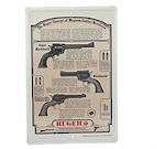 Ruger Revolver Tin Sign