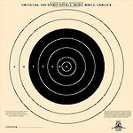 Champion Targets NRA TQ-4 Single Bulls Eye x100