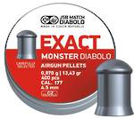 JSB Exact Monster Diabolo  .177 13.43 grain 400pcs