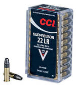CCI Suppressor 45gr 22lr x 50 Rounds