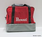 Perazzi Double Bottom Bag Gray/Red