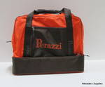 Perazzi Double Bottom Bag Orange/Black