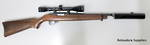 Ruger 10/22 Wood Blued With Tasco Scope USED