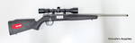 Savage B17 FS TB XP Stainless 17HMR Package