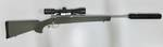 Howa 1500 Suppressed Package 6.5 Creedmoor Green hogue