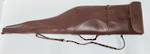 Scoped Leather/Wool Padding Rifle Case 48""