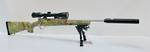 Howa 1500 Suppressed Package 223Rem Kings Desert Camo hogue