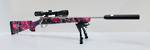 Howa 1500 Suppressed Package 223Rem Muddy Girl Camo hogue
