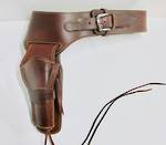 Cowboy Action Holster rig & belt fit most large frame single action revolvers.
